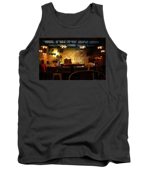 Tank Top featuring the photograph Hanging With Jock by David Lee Thompson
