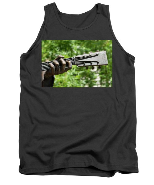 Hank Williams Hand And Guitar Tank Top