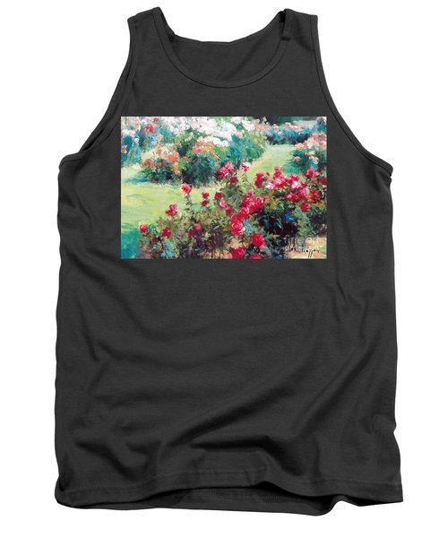 Tank Top featuring the painting Happiness by Rosario Piazza