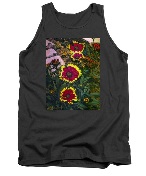Happy Faces Tank Top by Ron Richard Baviello