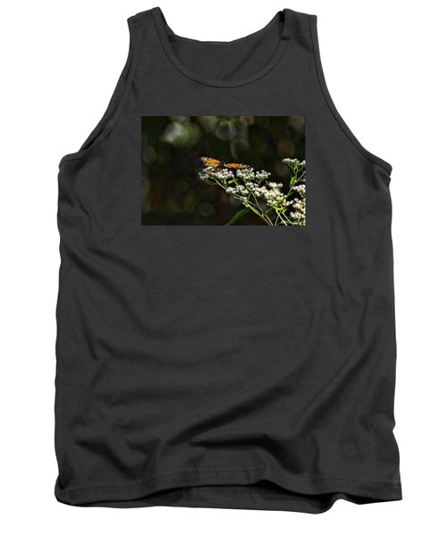 Happy Monarch Tank Top by Rick Friedle