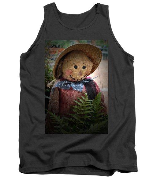 Happy Scarecrow Tank Top