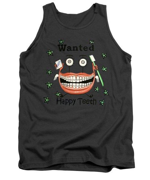 Happy Teeth T-shirt Tank Top