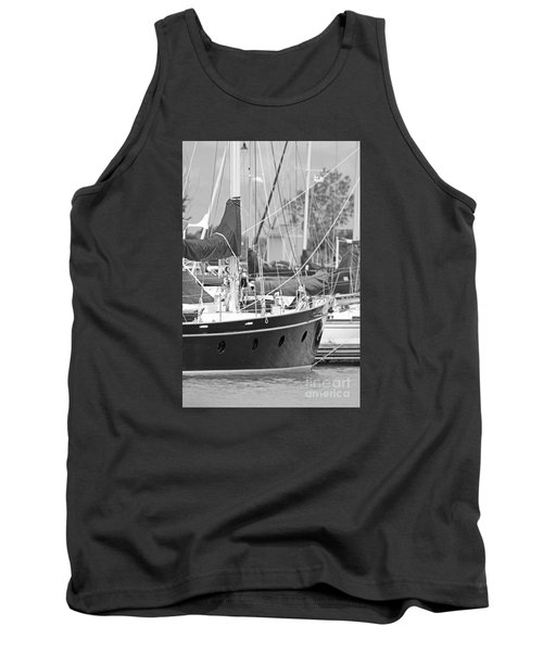 Harbor In Black And White Tank Top