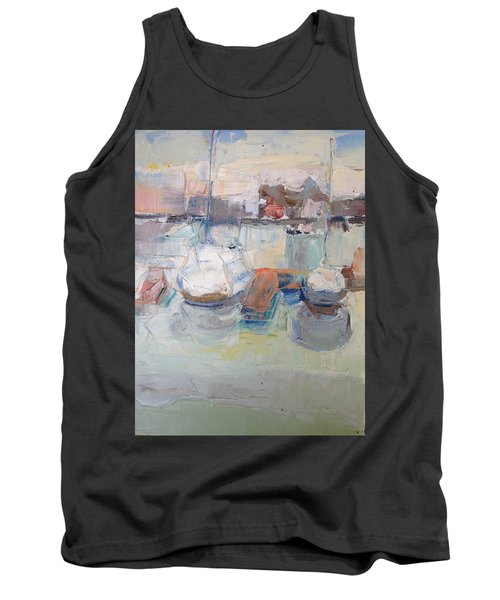 Harbor Sailboats Tank Top