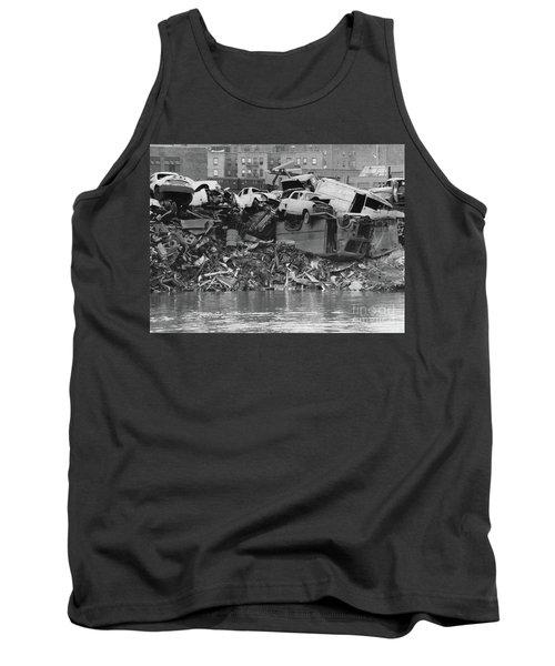 Harlem River Junkyard, 1967 Tank Top by Cole Thompson
