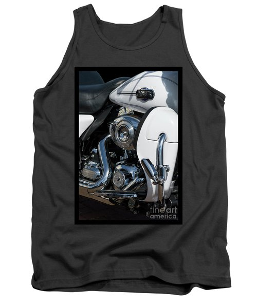 Tank Top featuring the photograph Harley Davidson 15 by Wendy Wilton