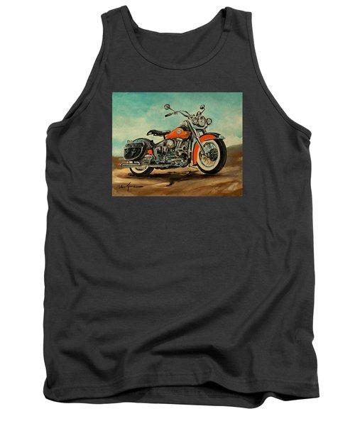 Harley Davidson 1956 Flh Tank Top
