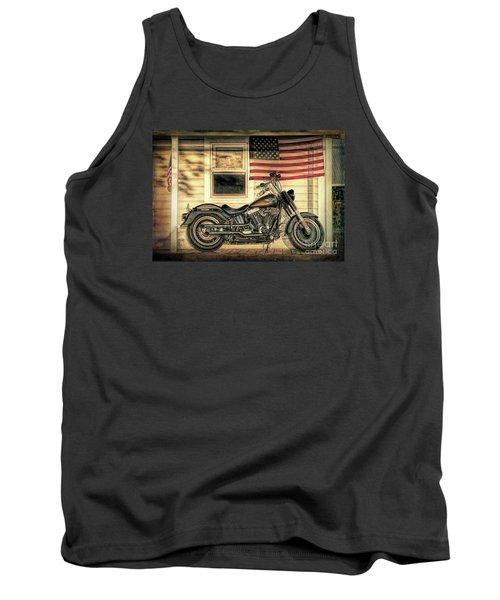 Harley Davidson Fat Boy Tank Top