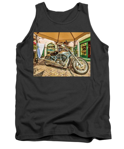 Tank Top featuring the photograph Harley by Roy McPeak