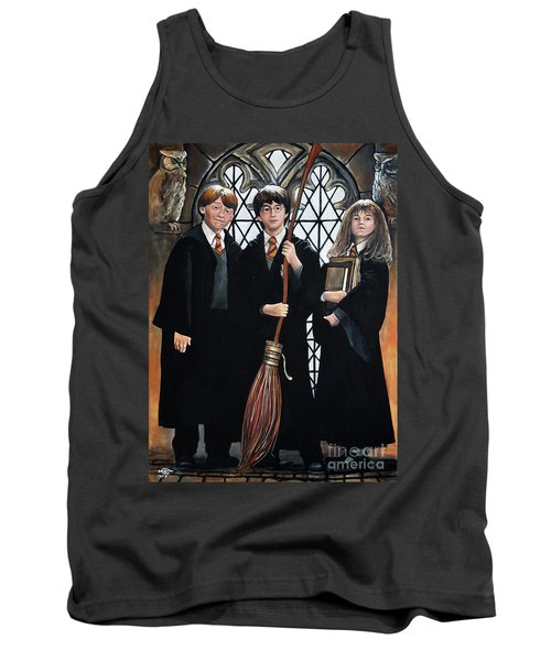 Harry Potter Tank Top by Tom Carlton