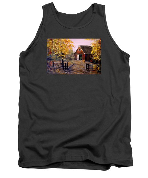 Harvest Time Tank Top by Alan Lakin