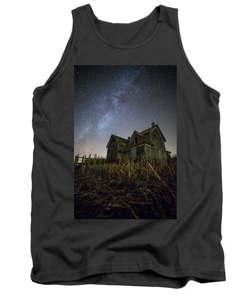 Tank Top featuring the photograph Harvested  by Aaron J Groen