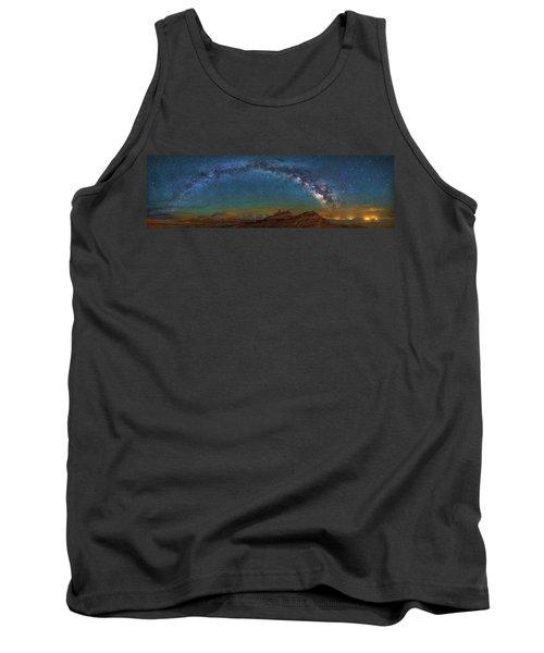Hat Rock Milky Way Tank Top