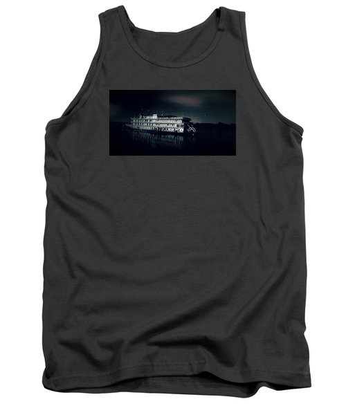 Haunted Dinner Cruise On The Columbia River  Tank Top by Lisa Kaiser