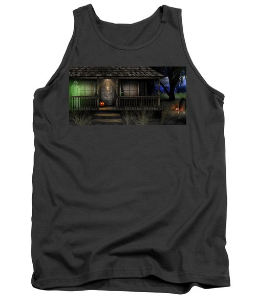 Haunted Halloween 2016 Tank Top by Anthony Citro