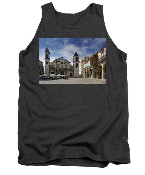 Havana Cathedral. Cuba Tank Top
