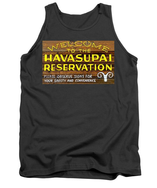 Tank Top featuring the photograph Havasupai Reservation by Joseph Hendrix