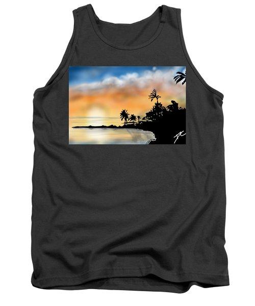 Hawaii Beach Tank Top