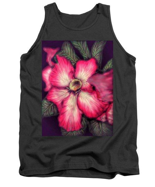 Hawaii Flower Tank Top
