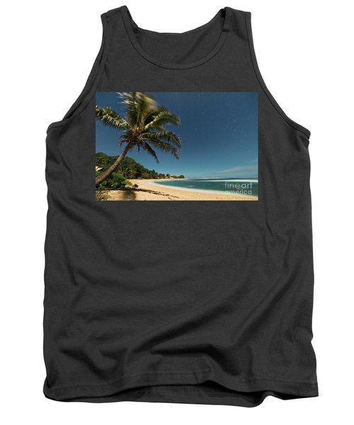 Hawaii Moonlit Beach Wainiha Kauai Hawaii Tank Top