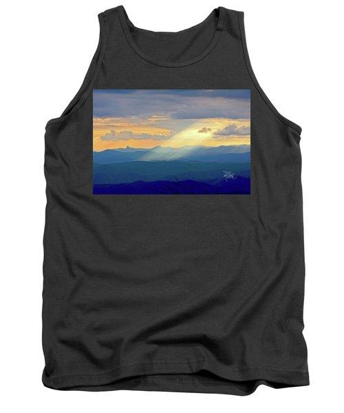 Hawks Bill Mountain Sunset Tank Top