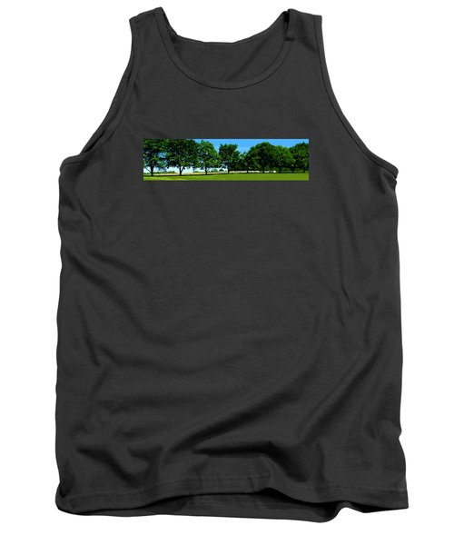 Tank Top featuring the photograph Hay Harvest by Spyder Webb