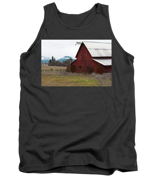 Hayfork Red Barn Tank Top