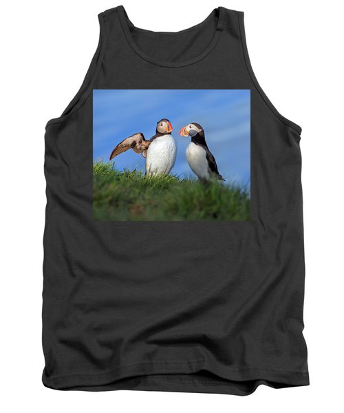 He Went That Way Tank Top by Betsy Knapp