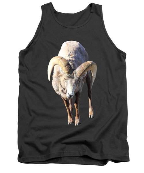 Head-on Tank Top by Shane Bechler