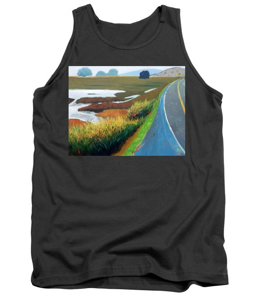 Tank Top featuring the painting Heading North by Gary Coleman