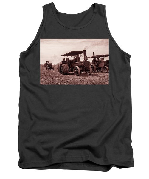 Heading Out Antiqued Tank Top