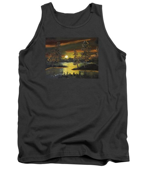 Headwaters Sunset 160115 Tank Top by Jack G Brauer