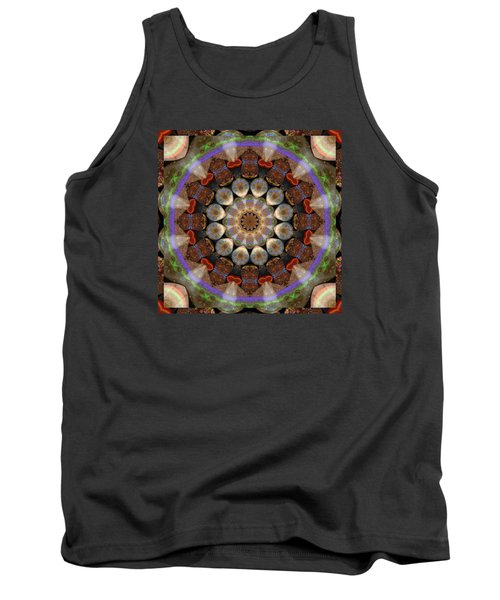 Tank Top featuring the photograph Healing Mandala 30 by Bell And Todd