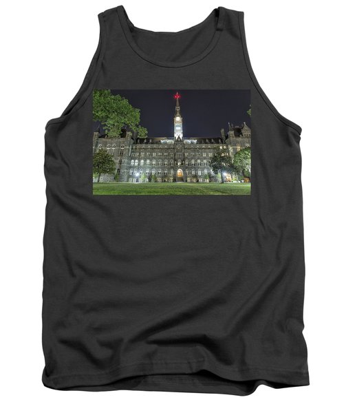 Tank Top featuring the photograph Healy Hall by Belinda Greb