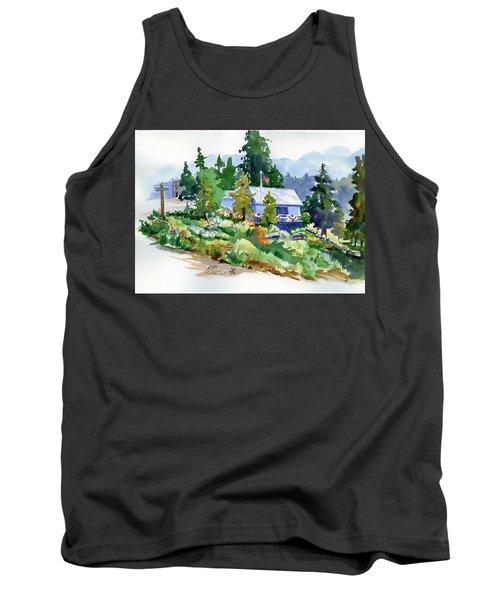 Hearse House Garden Tank Top