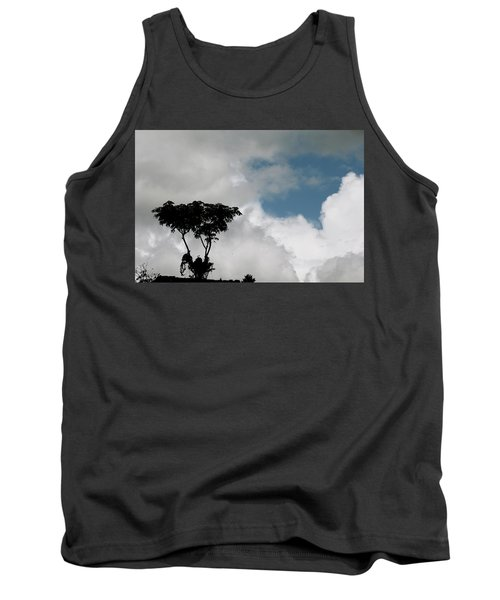 Heart In The Clouds Tank Top