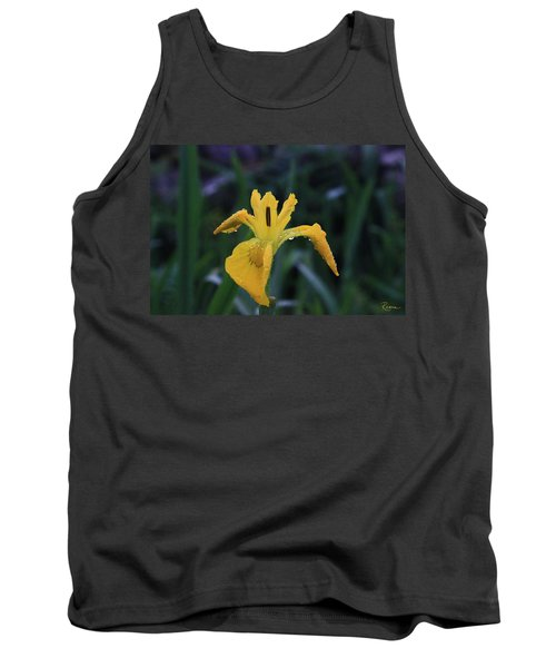 Heart Of Iris Tank Top