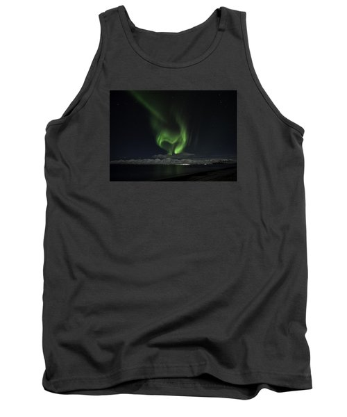 Heart Of Northern Lights Tank Top by Frodi Brinks