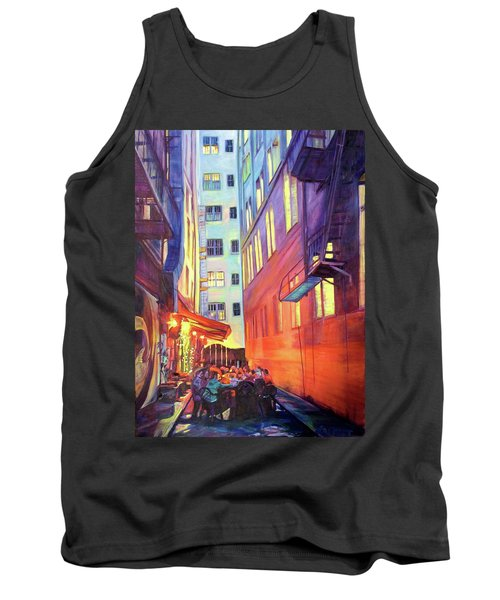 Heart Of The City Tank Top by Bonnie Lambert