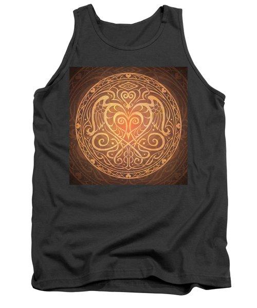 Heart Of Wisdom Mandala Tank Top