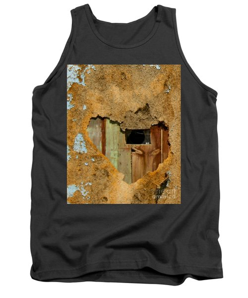Heart Wall Tank Top by Suzanne Lorenz