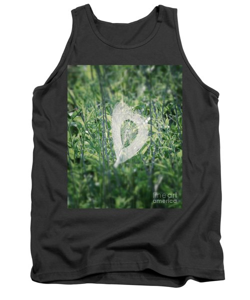 Hearts In Nature - Heart Shaped Web Tank Top