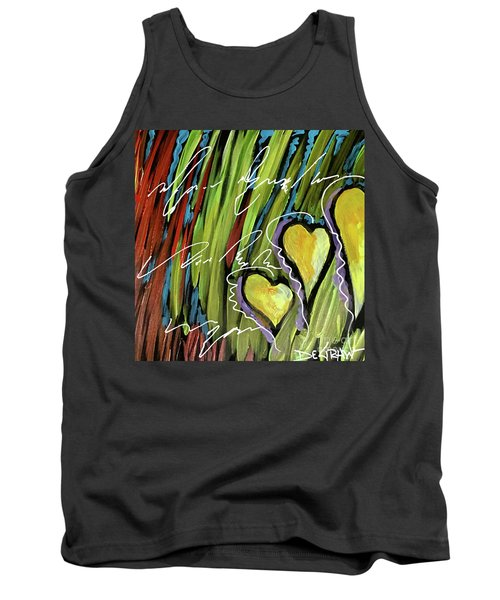 Hearts In The Grass Tank Top
