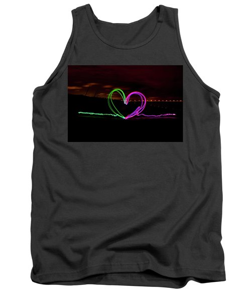 Hearts In The Night Tank Top