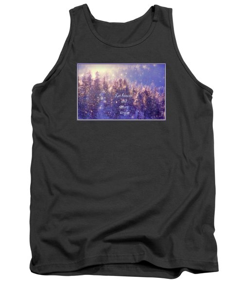 Heaven And Nature Tank Top by Kathy Bassett