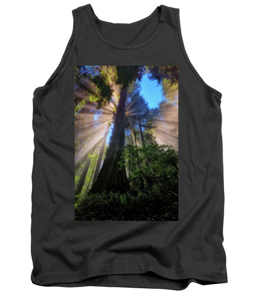 Heavenly Light Rays Tank Top