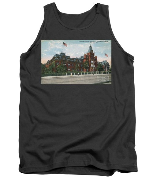 Tank Top featuring the photograph Hebrew Orphan Asylum by Cole Thompson