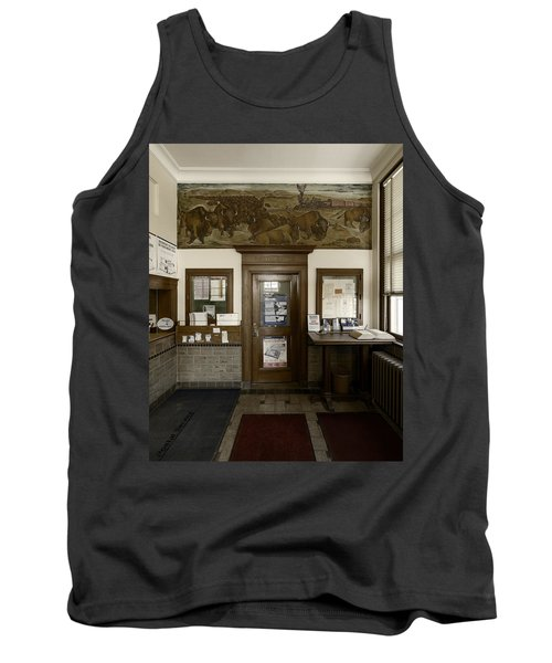 Hebron Nebraska Post Office Mural Tank Top