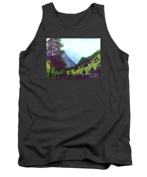 Tank Top featuring the painting Heidi's Place by Patricia Griffin Brett